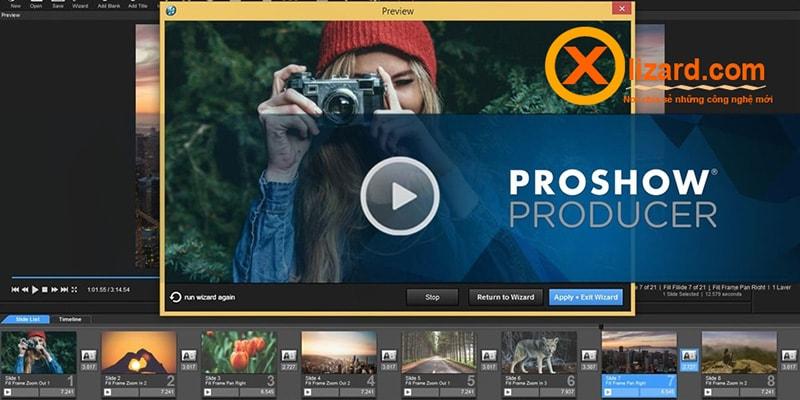 Phần mềm Proshow Producer